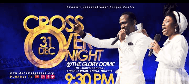 Dunamis 2019-2020 Crossover Night Live Service with Dr Paul Enenche