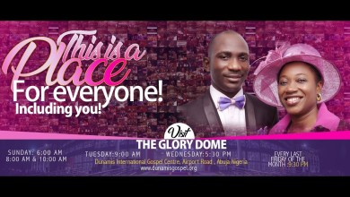 Photo of Dunamis Sunday Service 20th September 2020 Live at Glory Dome