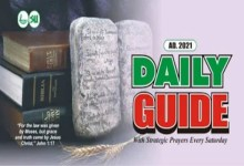 Scripture Union Daily Guide 22nd January 2021, Scripture Union Daily Guide 22nd January 2021 – The Big Three