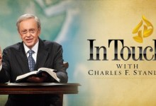 In Touch Devotional 10th April 2021 with Dr Charles Stanley - God Holds You Fast