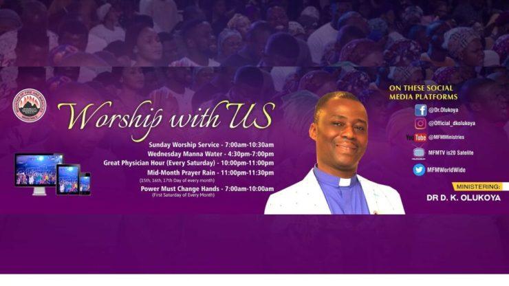 MFM Service Sunday 24th January 2021 Live with Pastor D. K. Olukoya