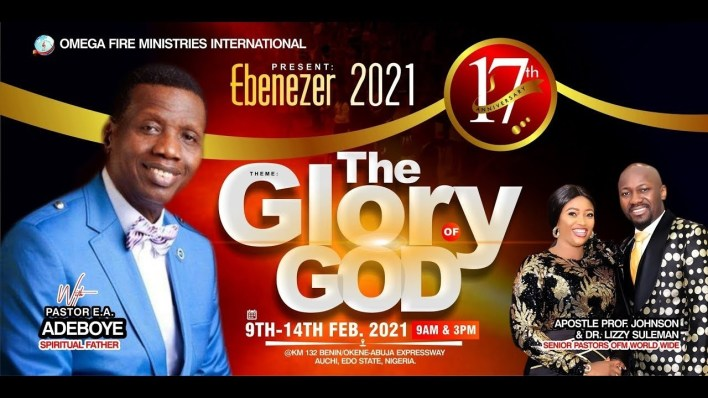 EBENEZER 2021 12th February 2021 with Apostle Johnson Suleman Day 4