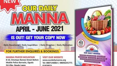 ODM Daily 17th May 2021 Manna Devotional - What To Do While You're Waiting!