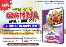 Our Daily Manna (ODM Online) 17th April 2021 – The Deliverance of the Head (1)