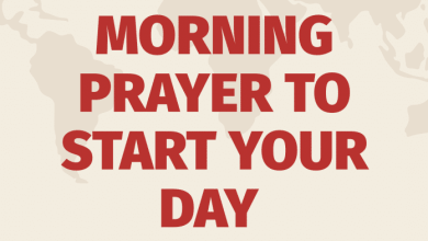 Daily Prayer and Bible Verse for 2nd August 2021 - Morning Prayer