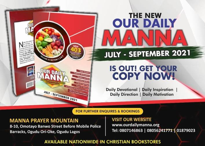 """ODM 22 July 2021 Daily Manna - The Testimony Of """"Go And See"""""""