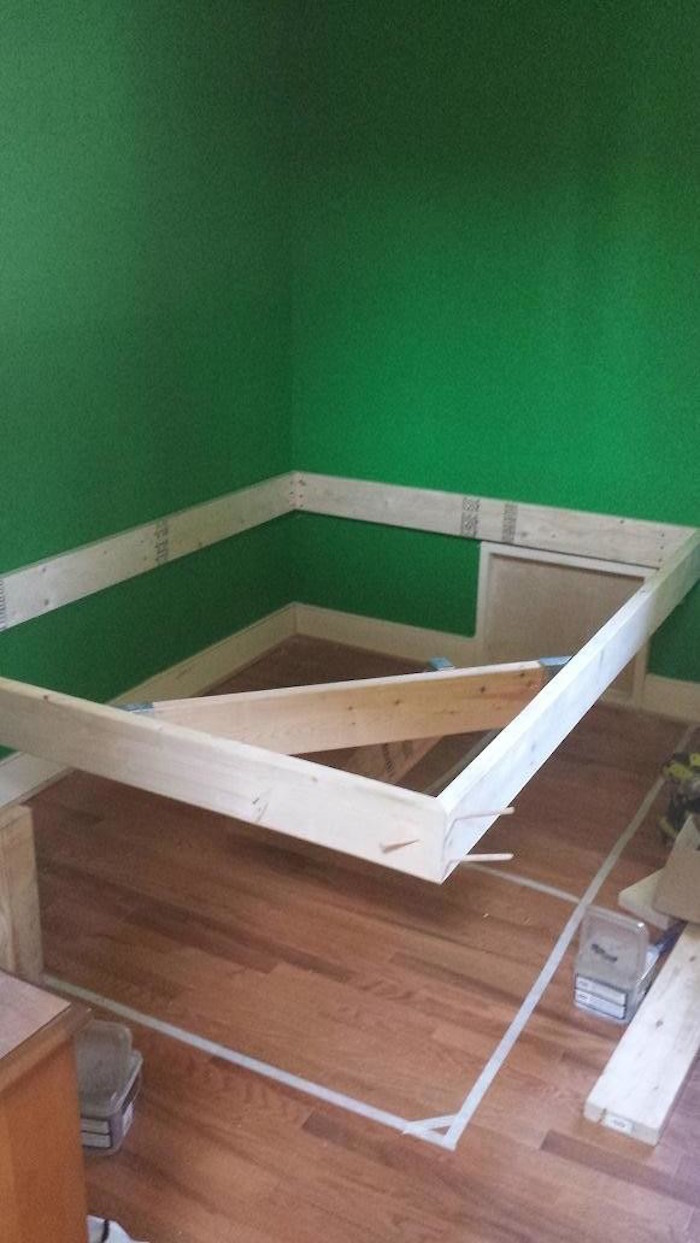 How To Build Your Very Own Floating Bed  Daily Digest