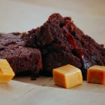 Dark Chocolate Caramel Brownies #SundaySupper
