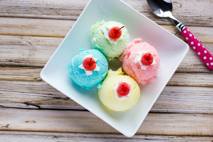 Real Jello Ice Cream with or without a machine!