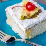 Pina Colada Poke Cake #SundaySupper