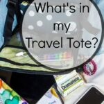 What's in my Travel Tote? Travel with Dramamine Non-Drowsy Naturals