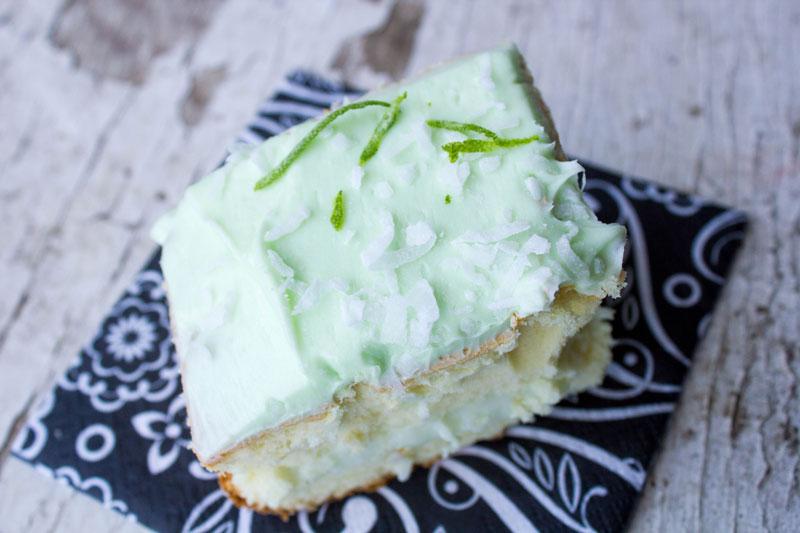 Lemon Key Lime Layer Snack Cakes