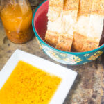 Restaurant Style Garlic and Herb Bread Dipping Oil