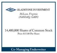 gladstone stock investment shares daily dividend investor income