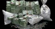 piles of cash income daily dividen investor risidual stream from home