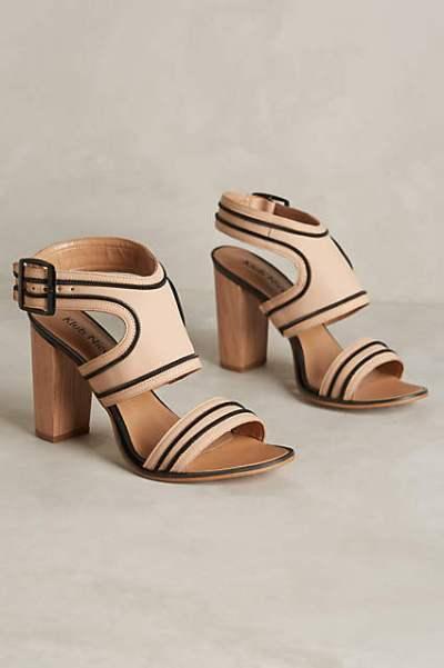 Anthropologie sandals pretty