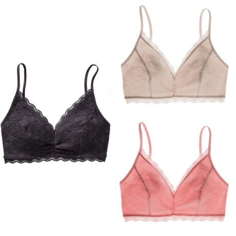 old navy lace cami bras