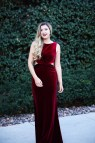 Red Maxi Dress for Christmas Party
