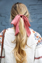 summer lovin hair bows & embroidered