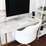 My Marble Gold Desk Wfh Office Details Daily Dose Of Charm