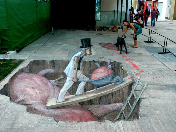 3d Street Art Daily Dose Of Creativity