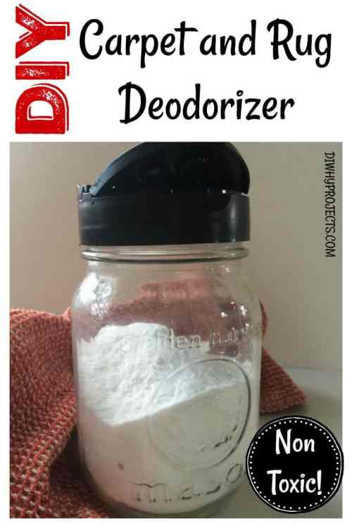 DIY Carpet Deodorizer and Refresher -Natural Non Toxic Cleaning!