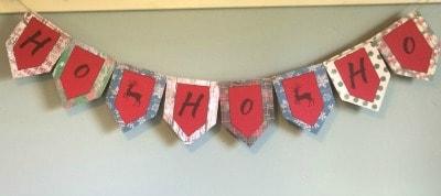 Ho Ho Ho Holiday Banner