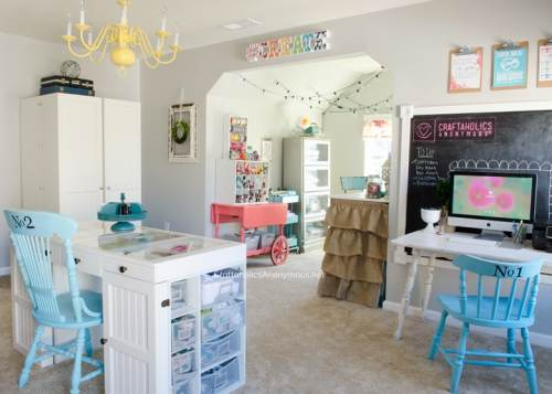 amazing craft room idea