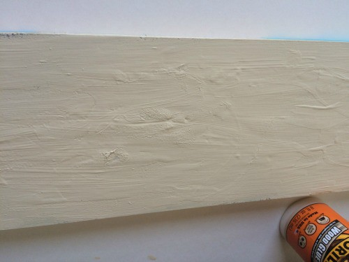 crackle paint with elmers wood glue