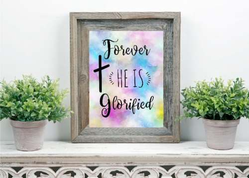 Free Easter Printable Wall Art Decor