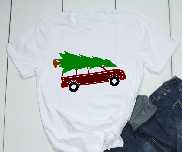 Griswold Christmas Car And Tree 12 Days Of Free Christmas Svgs Daily Dose Of Diy