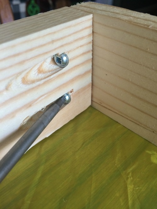 Using a Kreg Jig to build a DIY vinyl storage rack