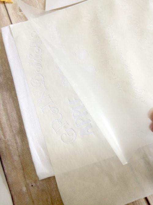 Freezer Paper Stencils DIY - Daily Dose of DIY