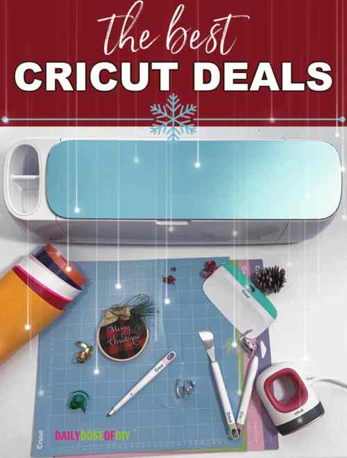 THE BEST BLACK FRIDAY DEALS ON CRICUT MAKER, CRICUT EXPLORE AND CRICUT VINYL AND CRAFTS 2019