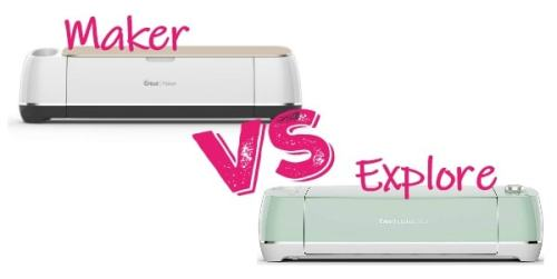 Cricut maker verses cricut explore for beginners