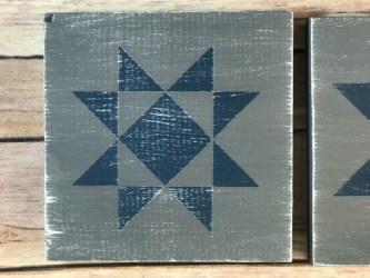 quilt svg blocks file diy painted cut star block distressed