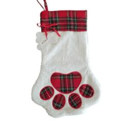 Dog Christmas stocking ready for Christmas Crafts