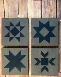 quilt blocks svg stencil file diy star stencils ahead stop painted cut cricut leave sealer seal choice there go