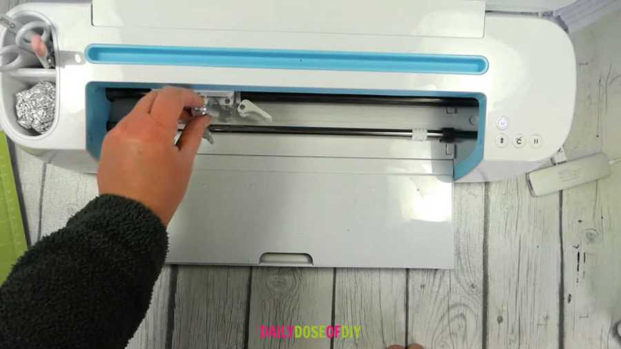 changing the blade on my cricut to cut htv