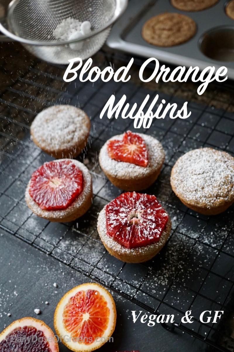 blood orange muffins