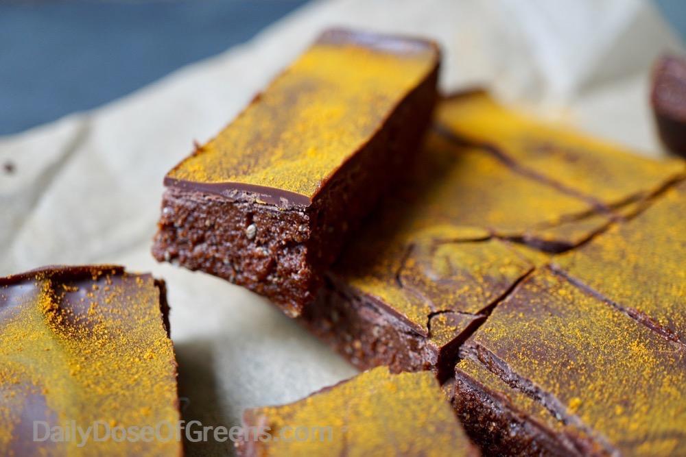 chocolate turmeric