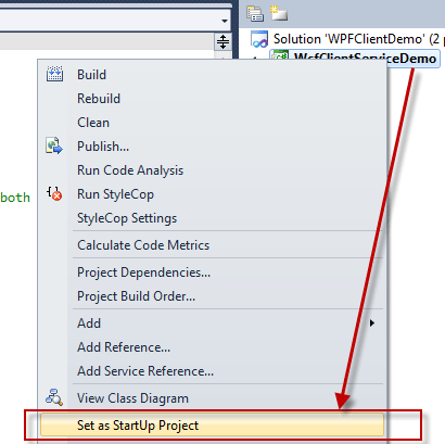 How to setup multiple startup projects in visual studio daily multiple startup project for above two option you can run only one project at a time so if you want to run multiple application same time you can change ccuart Images