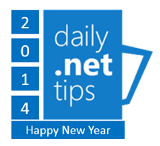 Top 5 Tips on Daily .NET Tips in Year 2013