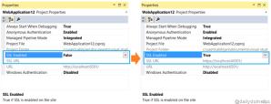 Enabling SSL with IIS Express in Visual Studio