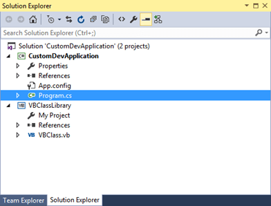 Back To Basics - Can we use both C# and VB Project within a