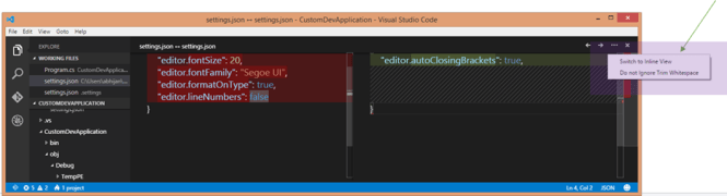 How to Compare files in Visual Studio Code ? - Daily  NET Tips