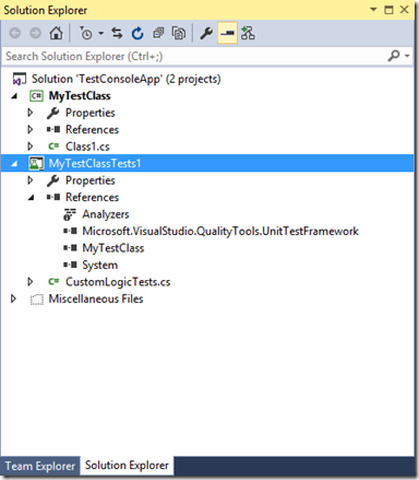 How to write your very first Unit Test in Visual Studio