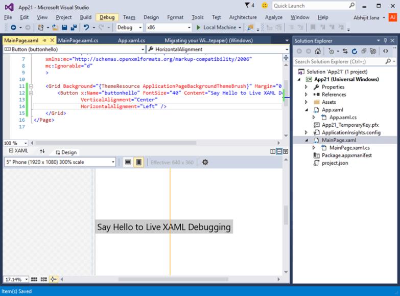 Windows Univeral App