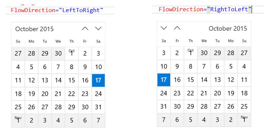 How to create a Calendar View in Universal Windows App  - Daily  NET