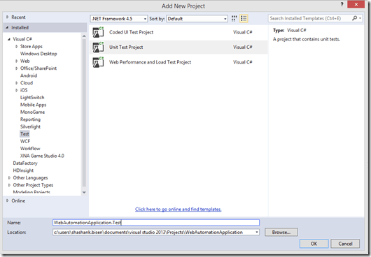 Deep Dive : Automated software testing with Visual Studio
